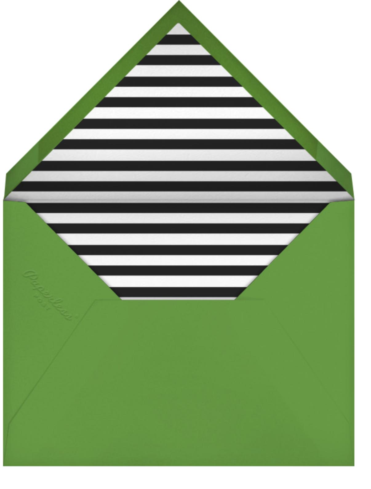 Welcome Mat (Invitation) - kate spade new york - Housewarming - envelope back