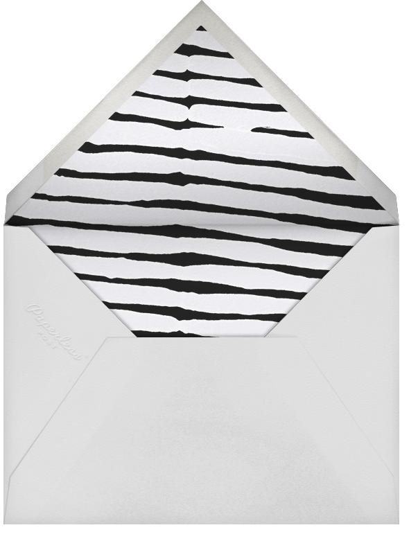 Ardent - Gray - Kelly Wearstler - Anniversary party - envelope back