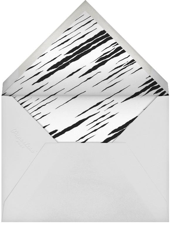 Lumina (Greeting) - Blue/Ivory - Kelly Wearstler - Hanukkah - envelope back