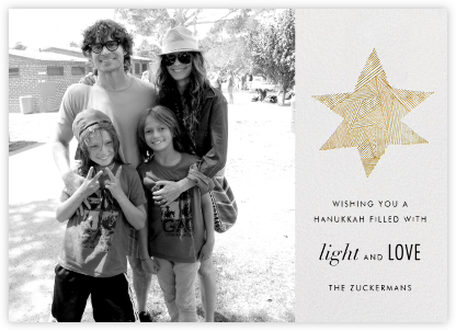Lumina (Photo) - Kelly Wearstler - Hanukkah photo cards