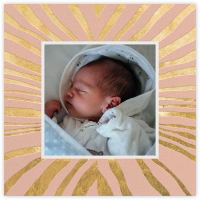 Kharma (Photo) - Pink/Gold - Kelly Wearstler - Birth Announcements