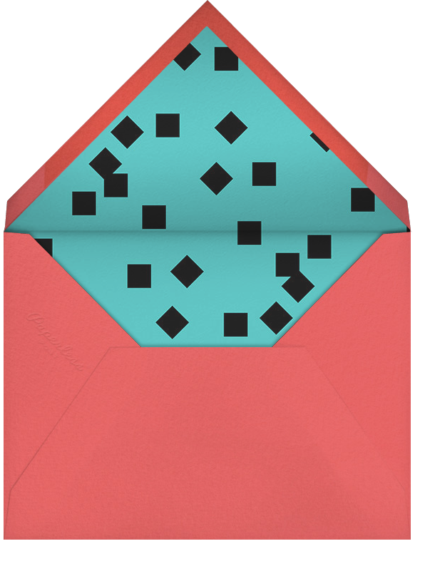 Smudge Border (Square) - Paperless Post - Adult birthday - envelope back