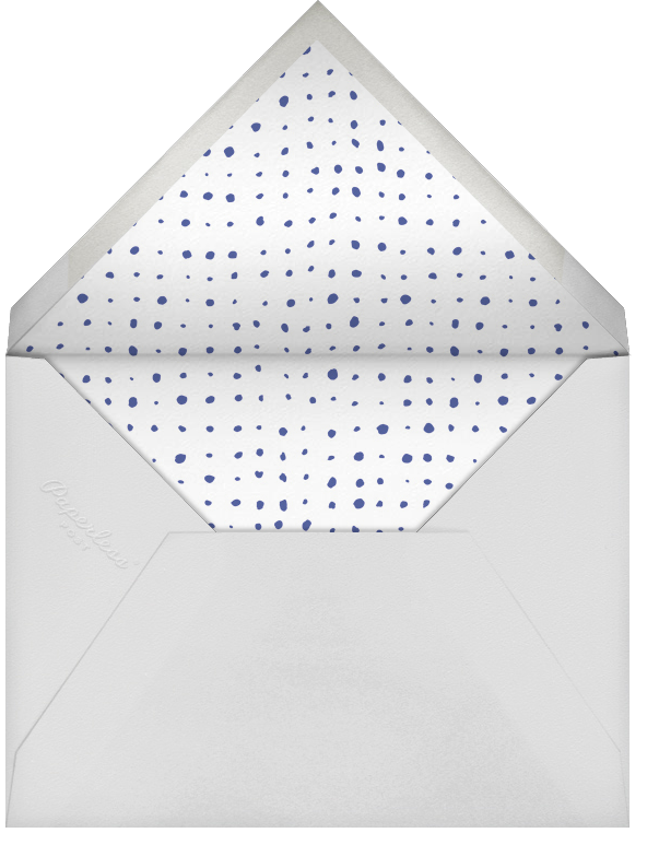 With Hugs and Kisses (Stationery) - Slate - Linda and Harriett - Wedding - envelope back