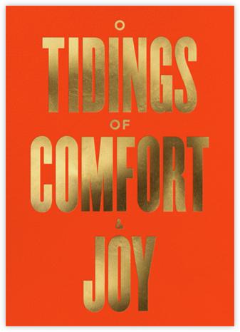 Comfort and Joy - Flame - The Indigo Bunting - Indigo Bunting