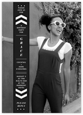Bookworm Tall - Black - Paperless Post -
