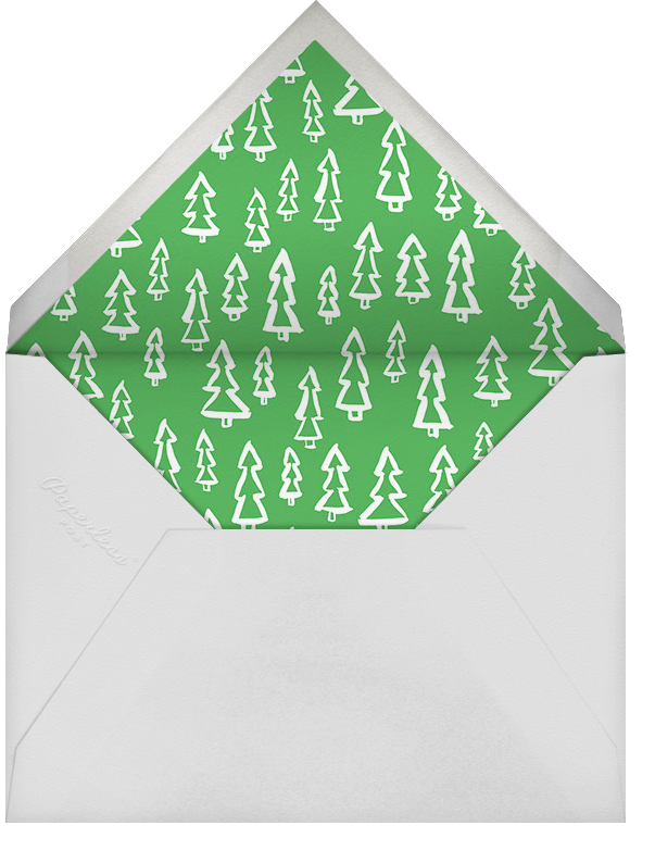 With Hugs and Kisses (Split-Screen) - Silver - Linda and Harriett - Holiday cards - envelope back