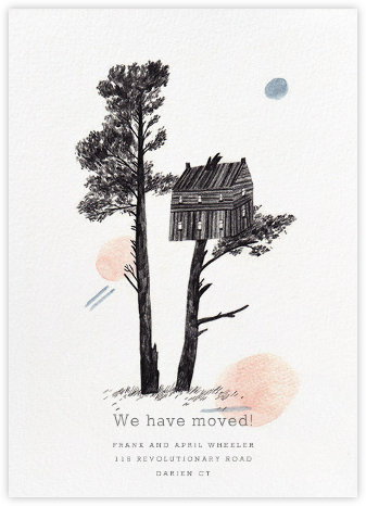 Happy New Home (Lizzy Stewart) - Red Cap Cards - Announcements