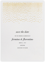 Jubilee II (Save the Date) - Gold