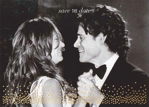Jubilee (Photo Save the Date) - Gold - Kelly Wearstler - Kelly Wearstler wedding