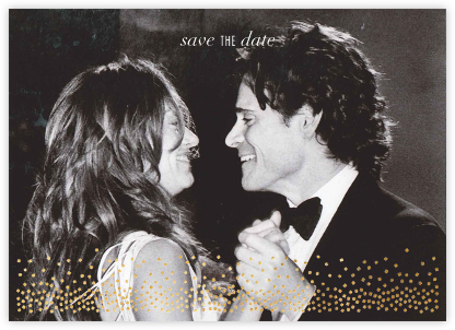 Jubilee (Photo Save the Date) - Gold - Kelly Wearstler - Save the dates