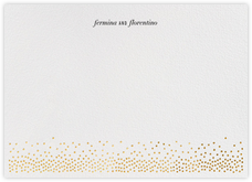 Jubilee II (Stationery) - Gold