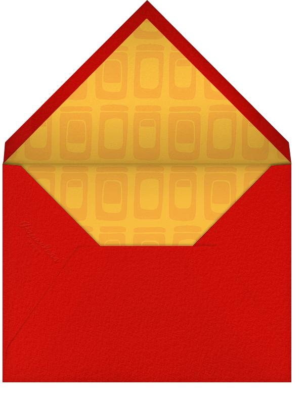 Save the Plate - Crate & Barrel - Bridal shower - envelope back