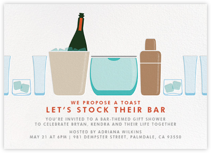 Party on Ice - Crate & Barrel - Invitations