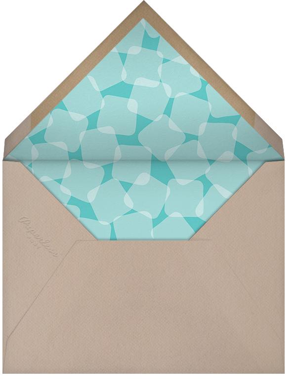 Party on Ice - Crate & Barrel - Bridal shower - envelope back