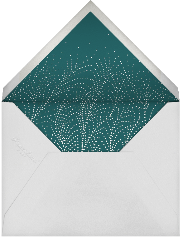 Underwood - Crimson/Silver - Paperless Post - Company holiday party - envelope back