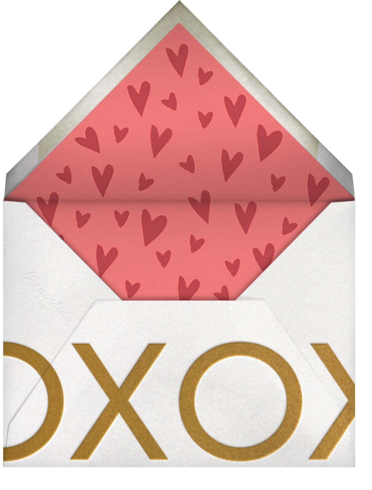 Bae Day - Paperless Post - Valentine's Day - envelope back
