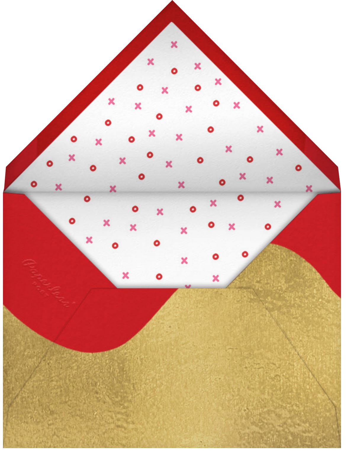 Corita Corazon - Paperless Post - Valentine's Day - envelope back