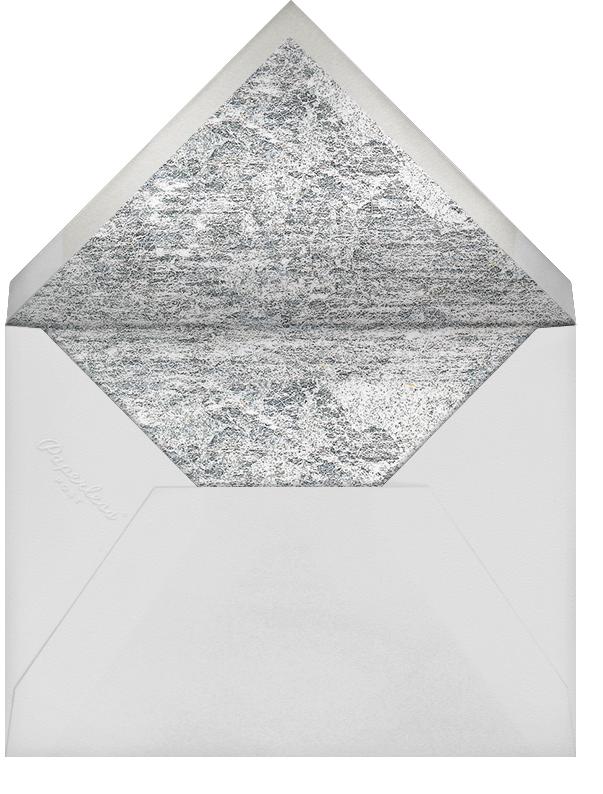 Jubilee II (Stationery) - Silver - Kelly Wearstler - Personalized stationery - envelope back