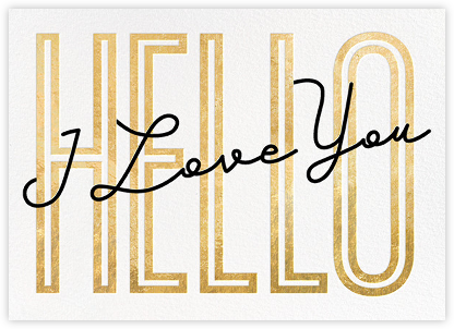 Won't You Tell Me Your Name? - Paperless Post - Valentine's Day Cards