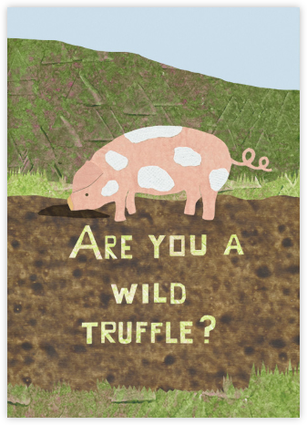 Wild Truffle - Paperless Post - Good Luck Cards