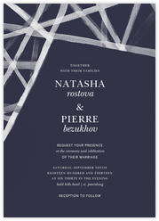 Channels (Invitation) - Navy