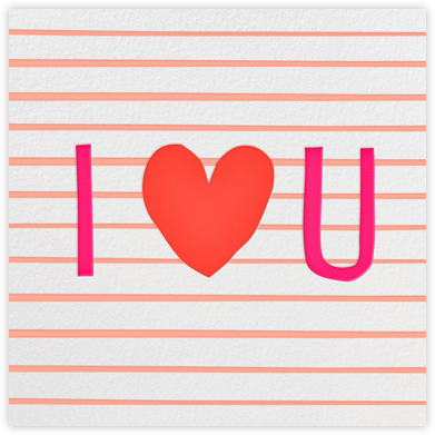 I Love You - Linda and Harriett - Valentine's Day Cards