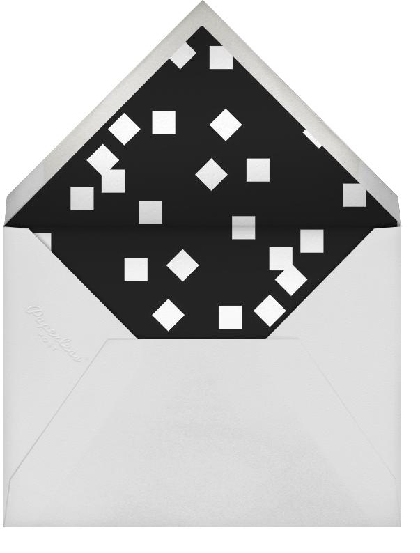 Placard - Silver - Paperless Post - Baptism  - envelope back