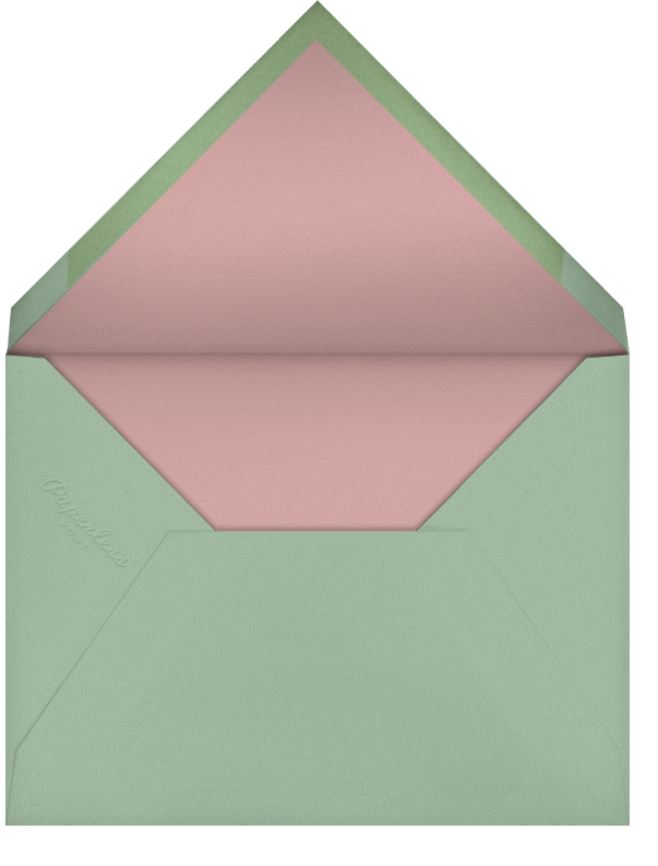 Pressed Flowers (Kelsey Garrity Riley) - Red Cap Cards - Just because - envelope back