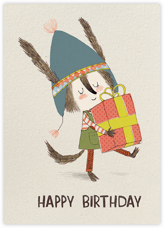 Birthday Vole (Kate Hindley) - Red Cap Cards -