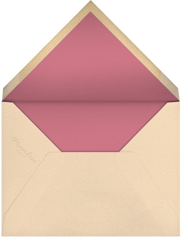 Donkey Pinata (Yelena Bryksenkova) - Red Cap Cards - Envelope