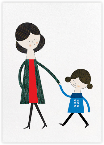 Mom and Me (Blanca Gomez) - Red Cap Cards - Mother's day cards