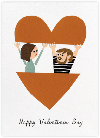 In Your Heart (Christian Robinson) - Red Cap Cards - Valentine's day cards