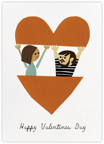 In Your Heart (Christian Robinson) - Medium/Light - Red Cap Cards - Valentine's Day Cards