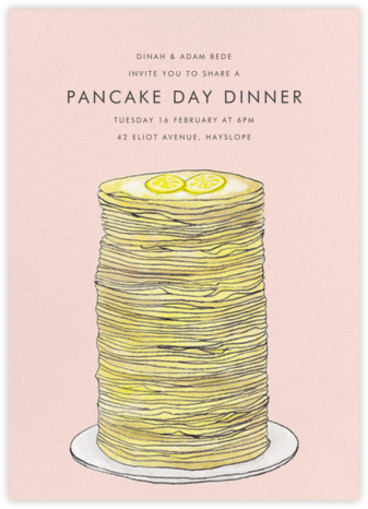 Stacks on Stacks - Paperless Post - Brunch invitations