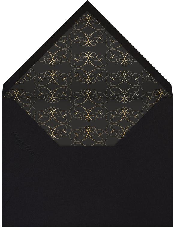 Dotted Border - Black - Bernard Maisner - Envelope