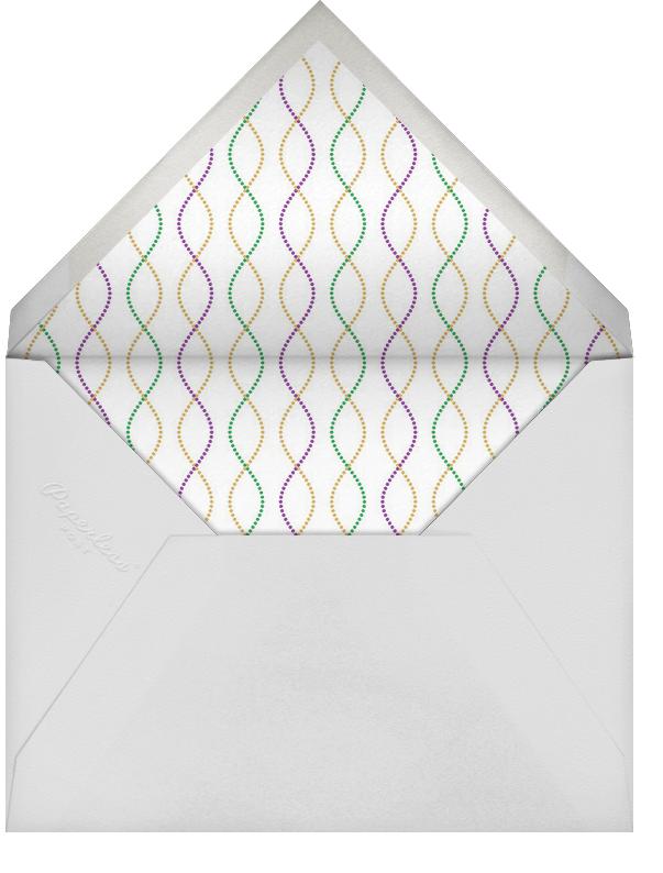 Bead It - Purple - Paperless Post - Mardi Gras - envelope back