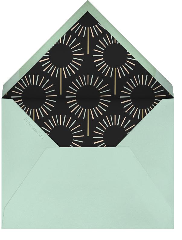 Year of the Sparkler - Gold/Black - Paperless Post - Adult birthday - envelope back