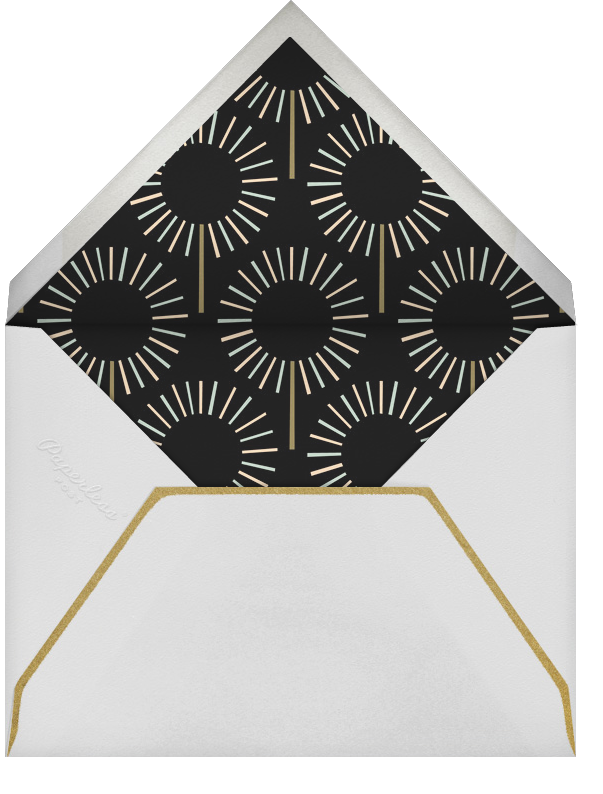 Year of the Sparkler - Gold/Pink - Paperless Post - Birthday - envelope back