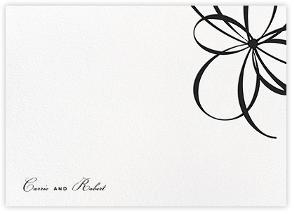 Belle Boulevard (Stationery) - Black | horizontal