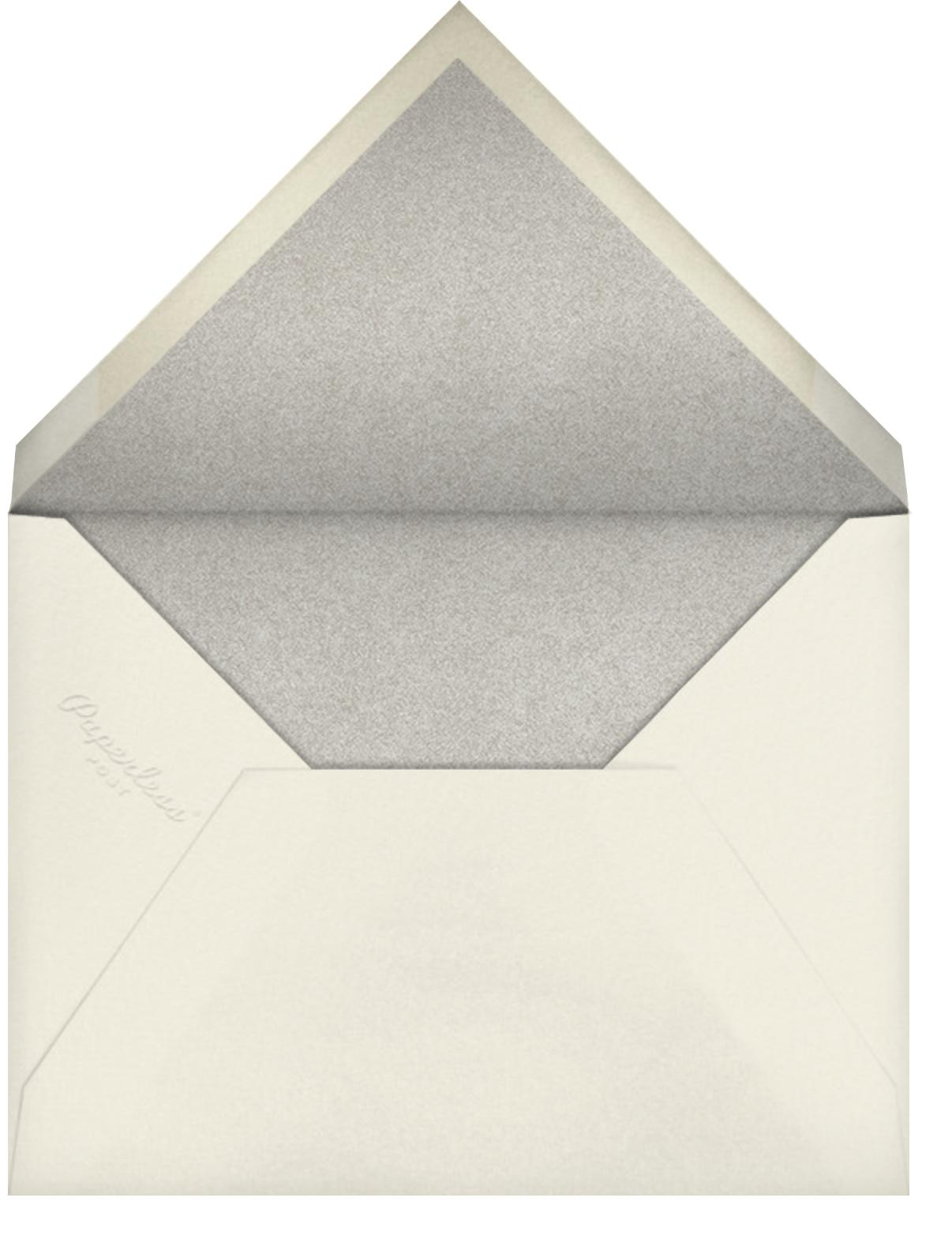 Our Big Day - Black - Crate & Barrel - Envelope