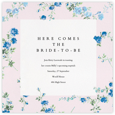 Elizabeth Daylight (Square) - Liberty - Bridal shower invitations