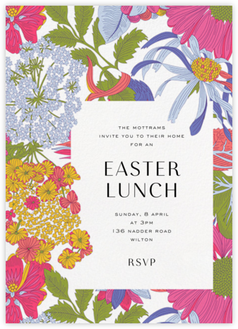 Angelica Garla (Invitation) - Liberty - Easter invitations