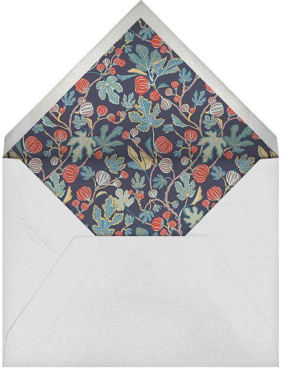 Alma (Invitation) - Navy - Liberty - General entertaining - envelope back
