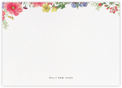 Archival Florals (Stationery) - Liberty - Liberty London wedding stationery