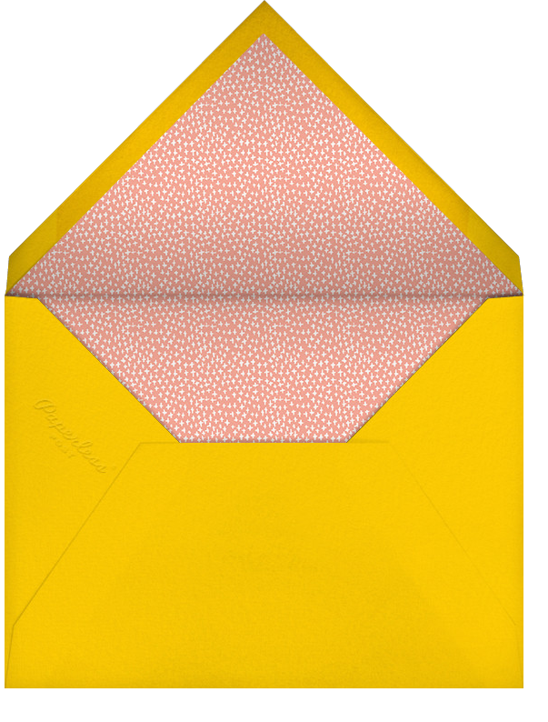 Mr. Big Apple (Invitation) - Mr. Boddington's Studio - All - envelope back