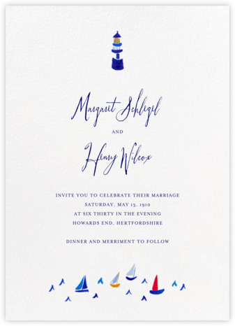 Mr. Digby (Invitation) - Mr. Boddington's Studio - Destination wedding invitations