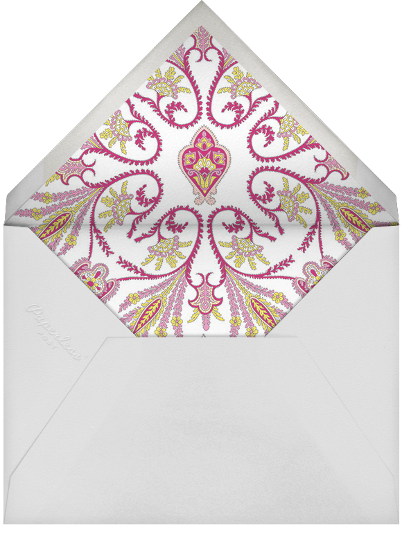 Lord Paisley Tana (Photo Save the Date) - Liberty - Envelope