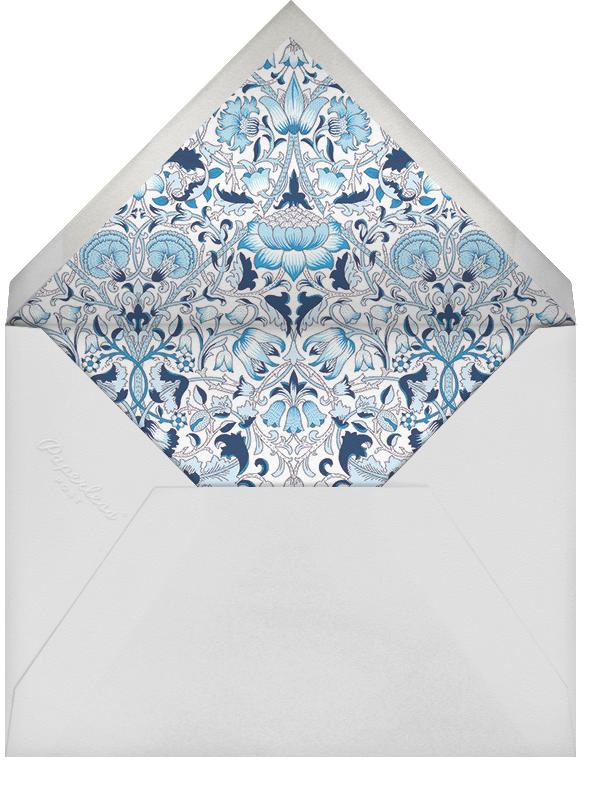 Lodden (Stationery) - Blue - Liberty - Personalized stationery - envelope back