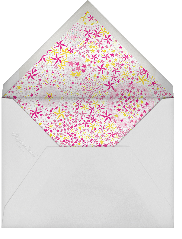 Adelajda - Pink - Liberty - Adult birthday - envelope back
