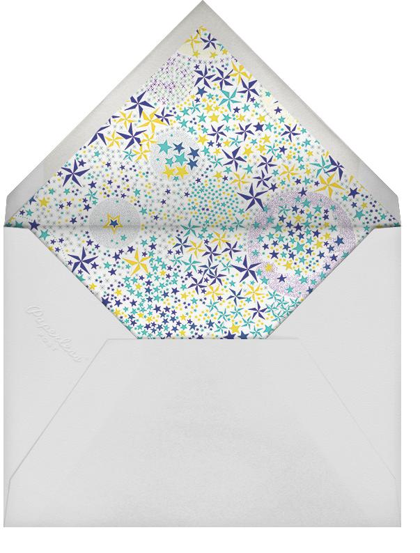 Adelajda - Blue - Liberty - Adult birthday - envelope back